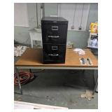 2 Drawer Filing Cabinet And 4ft Table