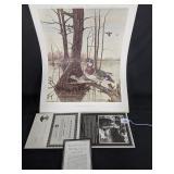 """Woodies at Walnut Log"" by Ralph McDonald1017/1250"