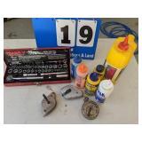 Husky Tool Set, Chalk Line & More