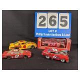 4 Die Cast Nascar Cars