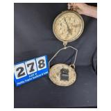 Detecto General Store Scale & Match Holder