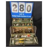 Vintage tool Box & Tackle