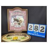 Vintage Michelob & Bear Sign