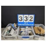 3 Tubs Full of Electrical Supplies