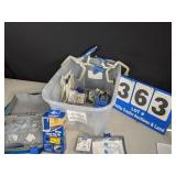 Assortment of Pocket Screw Kits and Accessories