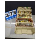 Tackle Box and Contents