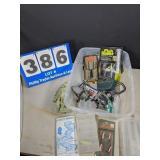 Assortment of Fishing Supplies