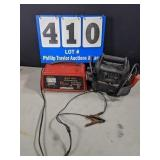 Battery Charger & Portable Power Air Compressor