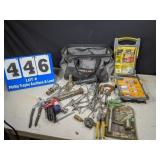Tool Bag Full of Tools & Accessories