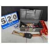 Tool Box with Electrical Tools