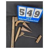 6 Piece Tobacco Tool Lot