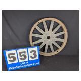 Antique Wood Spoke Wheel