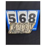 1942 Tennessee Liscense Plate