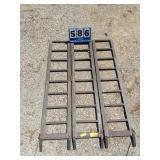 Tri Fold Allumilite Ramps 45inx65in