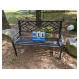 Metal Outdoor Bench