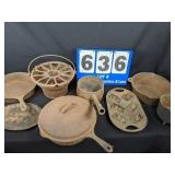 Large Selection of Cast Iron