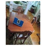 1940s Dining Table & 5 Chairs