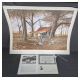 """Autumn Rust"" by Ralp McDonald 79/950"