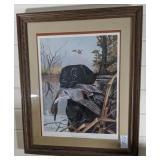 "Framed ""Black Labrador"" by Ralph McDonald"
