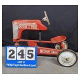 Vinatge AMF Motortrac Pedal tractor