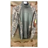 8 Each ACU Combat Shirts Various Sizes New