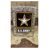 6 Each US Army  Metal Sign New