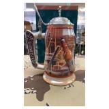 2 Each 1999 The Anheuser-Busch Beer Stein New