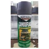 13 New Camouflage 12oz Spray Paint