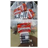 37 Each New AA Eveready Batteries
