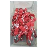 36 Each Red Trump Keychain W / Carabiner New
