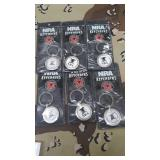 6 Each NRA Keychains New