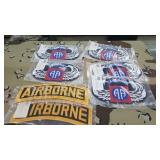 7 Each Airborne Embroidered Patch New