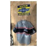 Mr. Goodwrench Shirt and Chevrolet Service Sign
