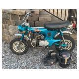 Honda Trail 70 Motorcyle