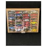 32 Collectible Matchbox Cars in Display