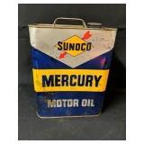 2 Quart Sunoco Motor Oil Can