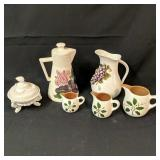 Stangl Pottery, Milk Glass Compote & More