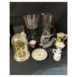 Lot Box of Assorted Home Decor