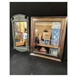 Two Decorative Mirrors