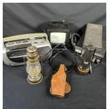 Lot Box of Vintage Electronics & More