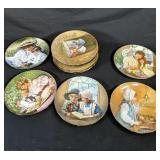 11 Assorted Collector Plates