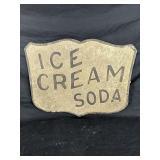 Ice Cream Soda Sign