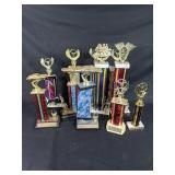 Large Selection of Vintage Race Trophies