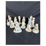 11 Frances Hooks Collectible Figurines
