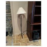 Decorative Wrought Iron Floor Lamp