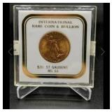 1927 $20 St Gaudens MS64 Gold Coin *SEE PMNT TERMS