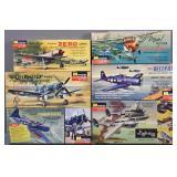 Vintage Monogram plastic kits