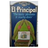 El Principal Cigar Box Advertising Sign