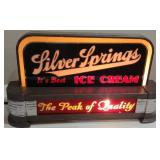 Silver Springs Ice Cream Cincinnati Deco Sign
