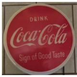 Coca Cola Button Light Up Display Sign